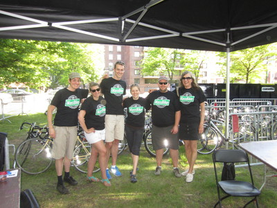MassBike volunteers at Earth Fest